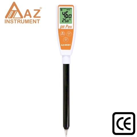 IP65 Rating Long Tube Sharp Tip pH Pen, Water Testing Meter