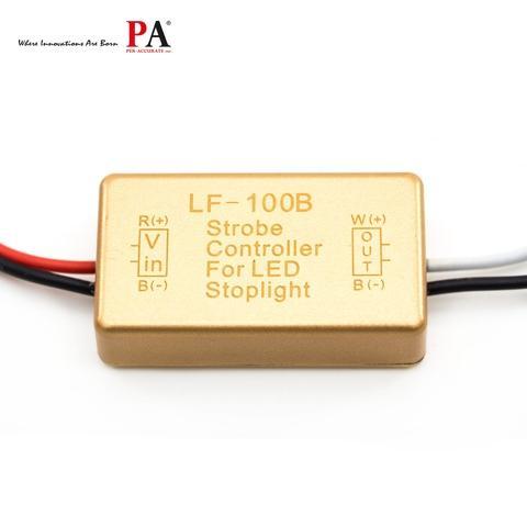 PA LF-100B LED Strobe Controller Flasher Module For Flashing LED Back Rear Brake Stop Light Lamp Car Accessories 12V