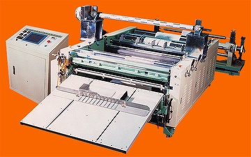 PET heat-flat cutting machine