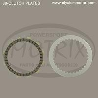 88_MOTORCYCLE CLUTCH PLATES