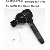 5- RH TIE ROD END for ISUZU diesel Forward FSR FRR