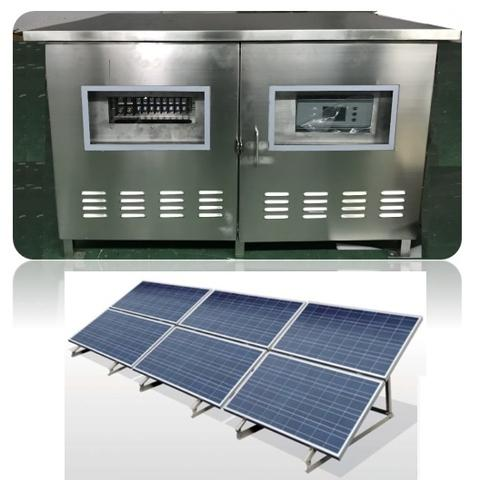 3KW Solar Powered Telecom Base Station
