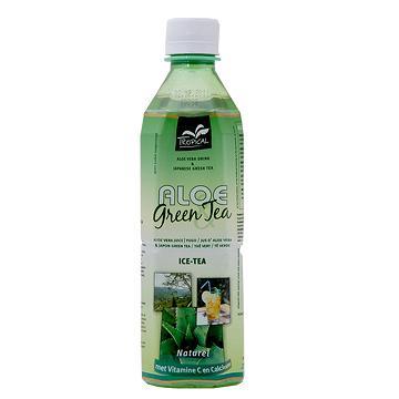 Taiwan Tropical - Aloe Vera Green Tea , Natural & Fresh Aloe Vera