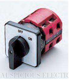 CAM SWITCH: ON-OFF SWITCHES 90°, 60° SWITCHING 32A