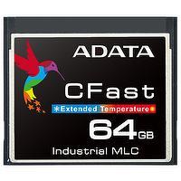 ADATA ISC3E 8GB/16GB/32GB/64GB Wide Temperature Industrial-Grade MLC Embedded CFast Card