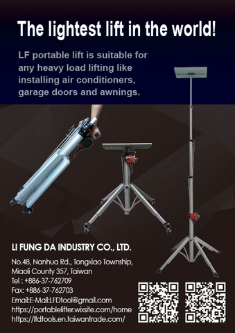Taiwan Electric Portable Lifter Lift Hoist Taiwantrade