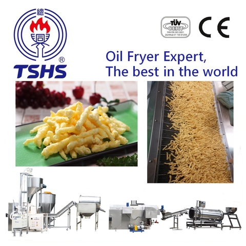 2017 Taiwan Industrial Automatic Cheetos Food Extruder