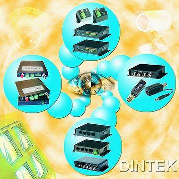 CCTV over UTP and Fiber solution