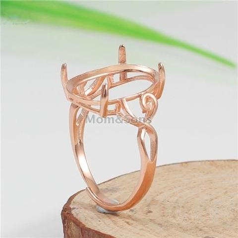 925 Silver Ring Stand P1989 Rose Gold