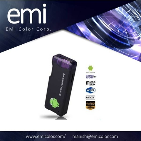 Taiwan Allwinner A10 android MINI PC Dongle with Wifi