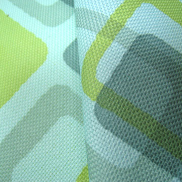 Print fabric, polyester fabric