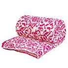 Cashmere-Like Double Blanket -Magenta,microfiber,textile chemicals,manufacturer,fabric,knit