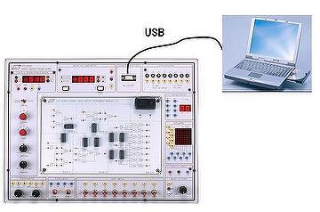 PC based digital circuit trainer w