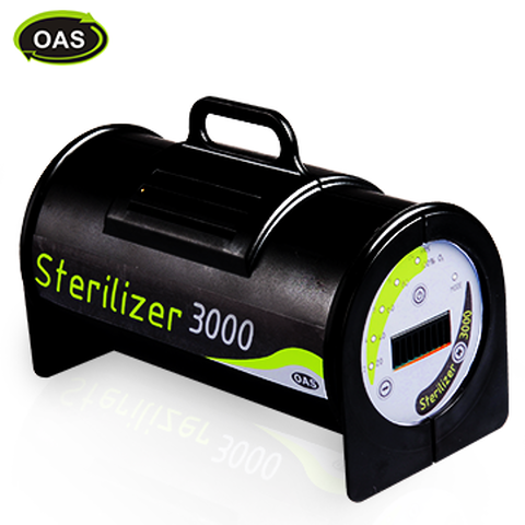 Sterilizer with Low Power Consumption