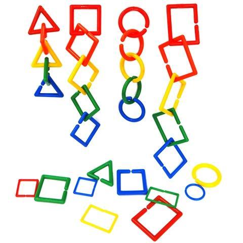 Big Size Shape links set 5 colors