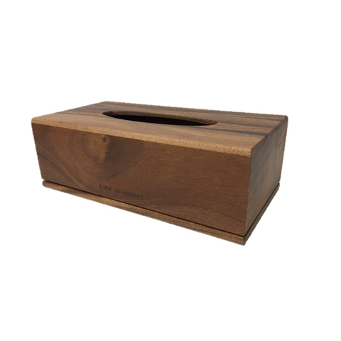 Taiwan Luxury Rustic Rectangle Wooden Tissue Paper Box for Bathing ...
