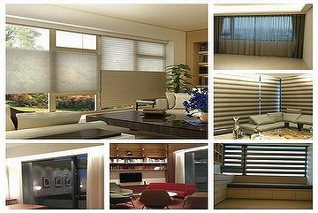 Motorized Remote Control Automatic Curtain System