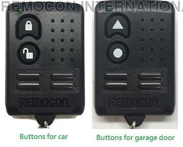 Taiwan B Type Fixed Code Programmable Remote Control