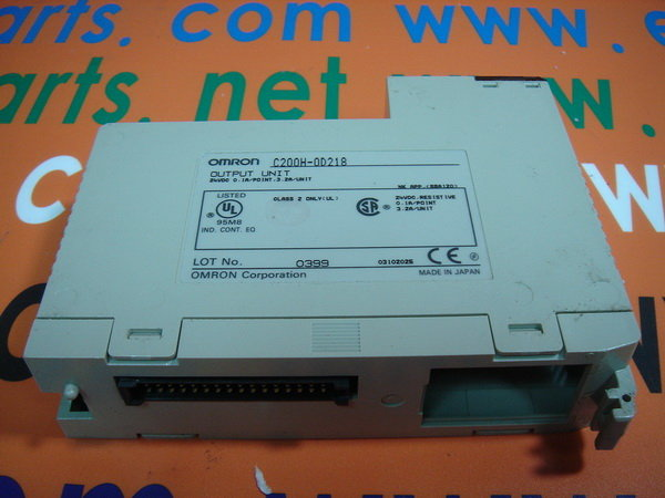 OMRON OUTPUT MODULE 32POINT FOR CPU 21/23/31/H C200H-OD218