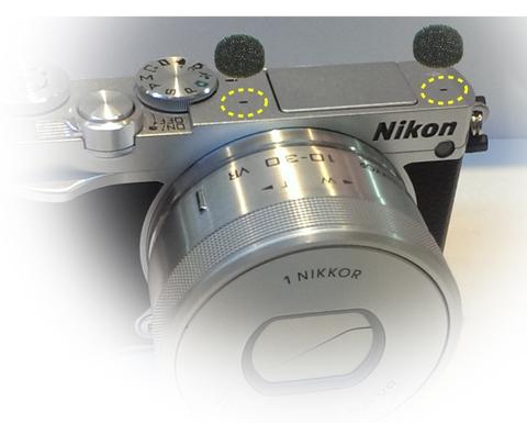 Taiwan Gomet mini Wind Filter Sticker for Body Camera Mic