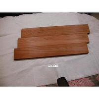 Solid Teak wood flooring .