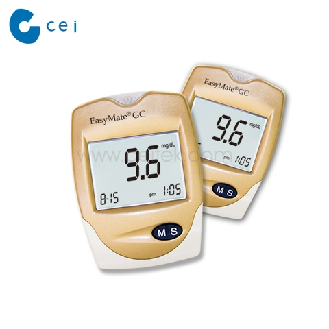 Hot sell Portable Quick Check Blood Glucose with Cholesterol test meter