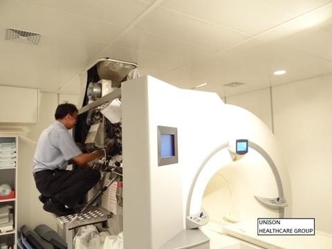 MRI installation/deinstallation, service contract