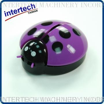 Light Purple Ladybug Car Air Freshner