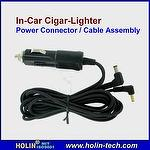 In Car Cigar-Plug Power Connector / Cable Assembly