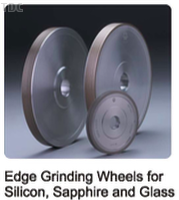 Edge Grinding Wheels for Silicon, Sapphire and Glass