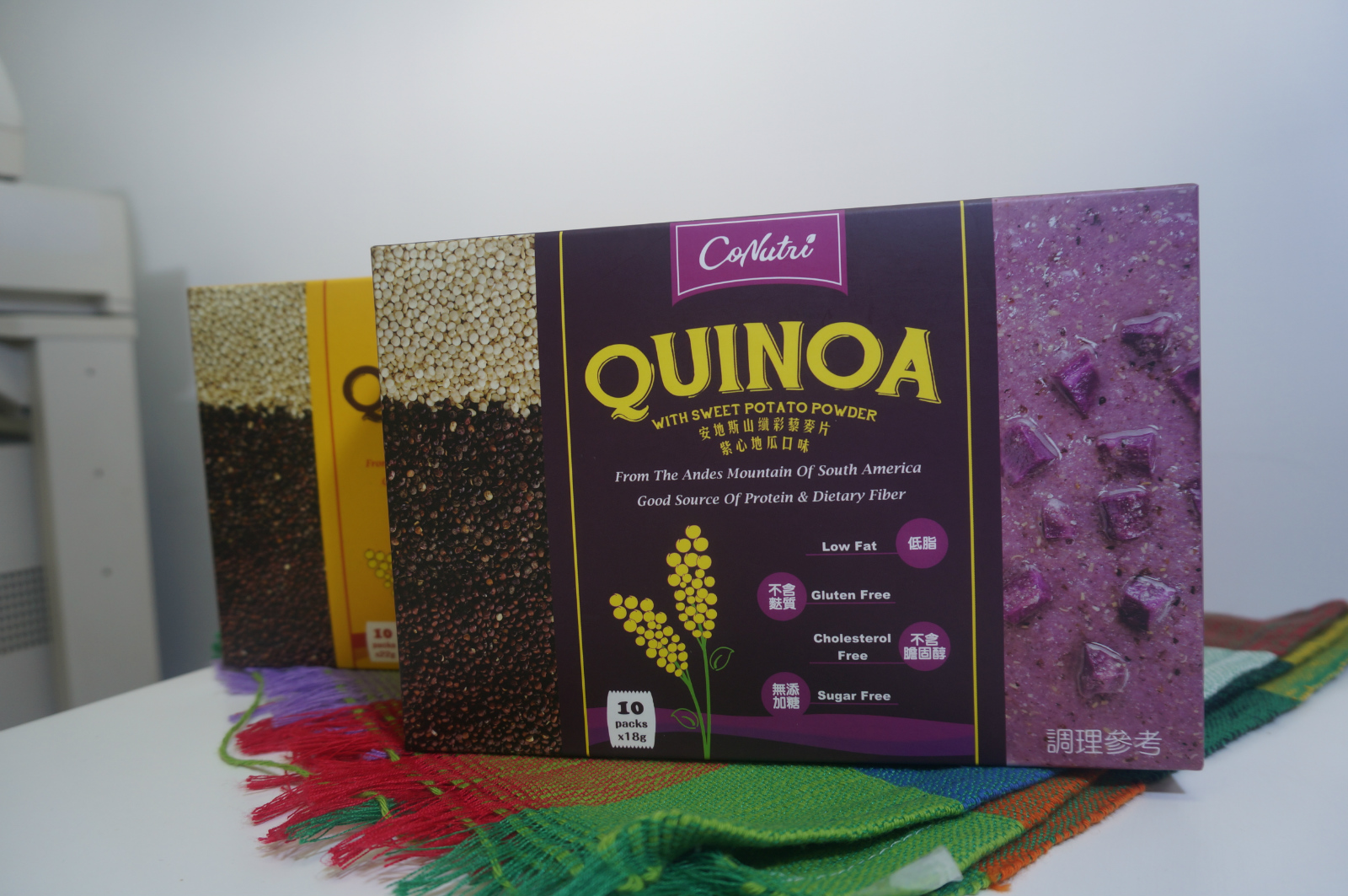 Taiwan QUINOA WITH SWEET POTATO POWDER | Taiwantrade