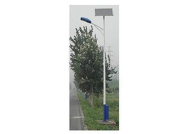 Solar powered street lights system