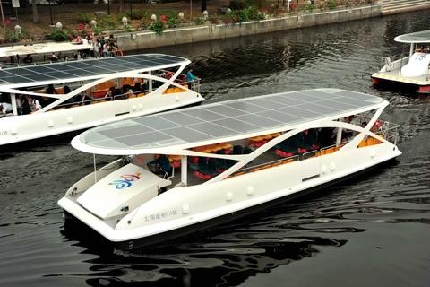 Solar-Elektroboot