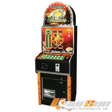 YS-R01, roulette, coin, game, machine, amusement