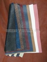 FLOCKING LEATHER FOR SHOES AND GARMENT