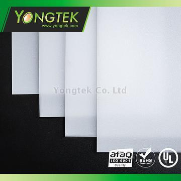 Taiwan PMMA material LED light diffuer sheets | YONGTEK CO