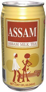 Assam Milk Tea (340 ml Cans)