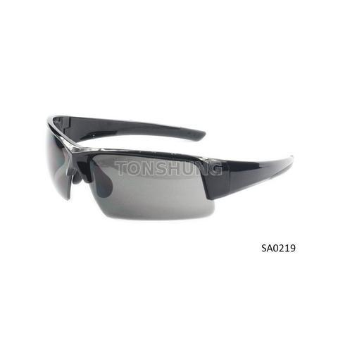 Co-injection sports style safety glasses
