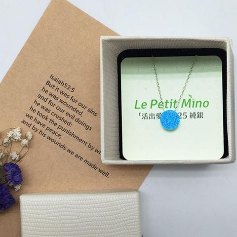 Sun Pendant Silver Clavicle Necklace Gift Box