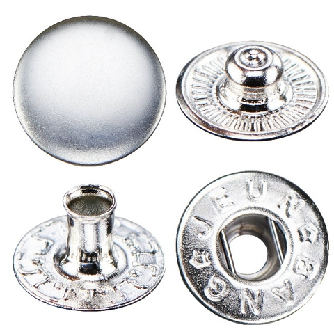 B404 Metal Snap Button - Spring