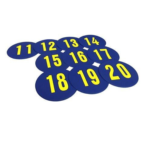 11-20 number round mark mat