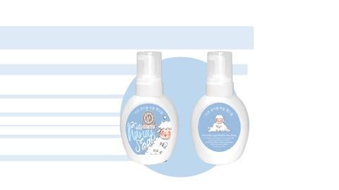 Organic Kids Clean Skin Care Soft Bubble Handsoap