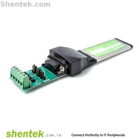 Taiwan Shentek Serial RS422 4 Wire 2 Wire RS485 1 Port High Speed