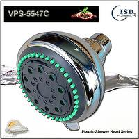 Innovative and Modern Luxury Plastic Shower Head with Rubber Nipples
