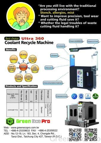 Coolant Purification Systems Ultra 1200