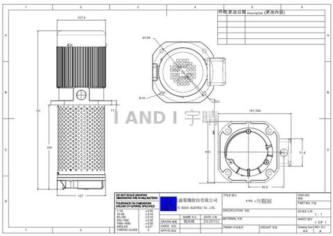 TC-4180 Coolant Pump