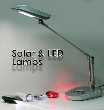 Solar & LED Lamps