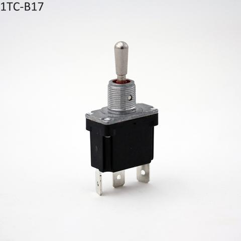 3 Position Waterproof IP69 Toggle Switch (ON)-OFF-(ON)