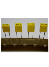 Mini Box Metallized film Capacitors for Net Work Switch