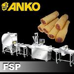 Fully Automatic Finger Spring Roll Production Line(Lumpia-Shanghai, Spring Roll, spring roll machine, lumpia shanghai, filipino lumpia, Anko Food Machine)